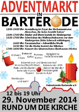 Adventmarkt in Barterode