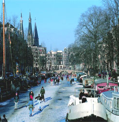 Christmas Village on Ice op het Museumplein