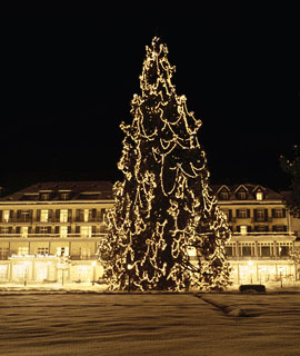 Lichterfeier in Bad Ragaz