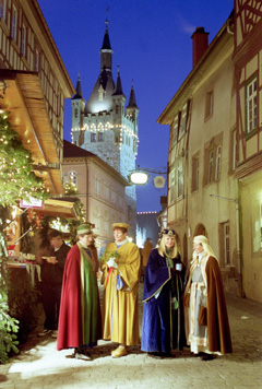 altdeutscher weihnachtsmarkt in bad wimpfen 2004. Black Bedroom Furniture Sets. Home Design Ideas