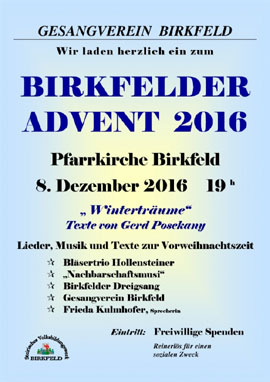 Birkfelder Advent