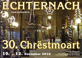 weihnachtsmarkt echternach weihnachten 2010. Black Bedroom Furniture Sets. Home Design Ideas