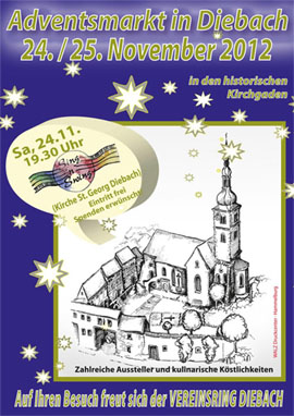 Adventsmarkt in Diebach 2017