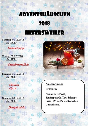 Adventshaus in Hefersweiler
