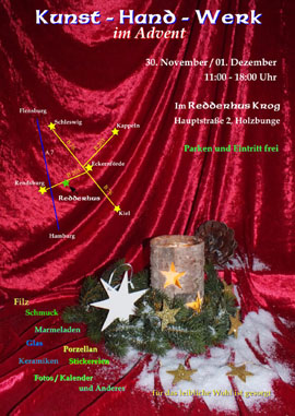 Kunst-Hand-Werk im Advent