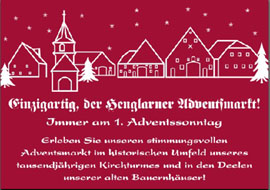 Adventsmarkt in Henglarn
