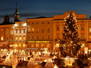 Stimmungsvoller Advent in Linz (Donau)