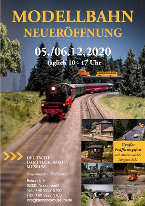 Internationaler Tag der Modelleisenbahn 2020