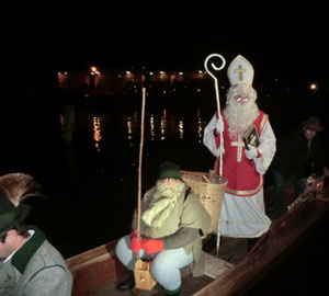 Nikolaus in Obertraun