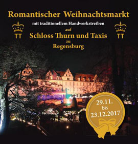 romantischer weihnachtsmarkt auf schloss thurn taxis weihnachten 2018. Black Bedroom Furniture Sets. Home Design Ideas