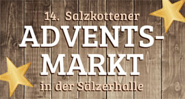 15. Adventsmarkt in der Sälzerhalle