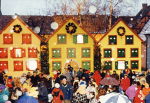 Der Adventskalender in Turckheim