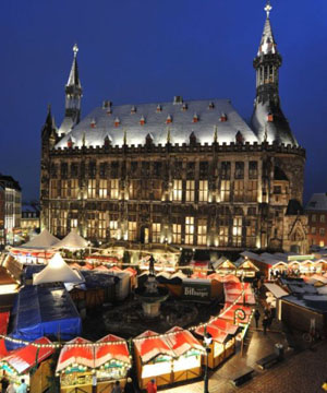 Weihnachtsmarkt in Aachen