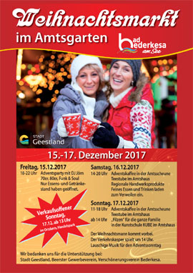 Weihnachtsmarkt in Bad Bederkesa
