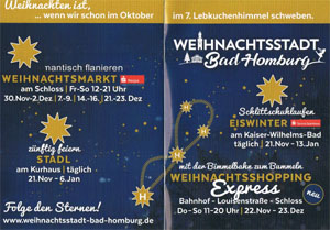 Weihnachtsmarkt in Bad Homburg