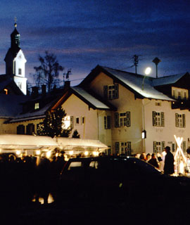Traditioneller Christkindlmarkt von Bad Kohlgrub