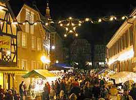 Weihnachten 2004 - Weihnachtsmarkt in Ettenheim