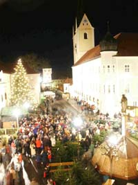 Advent am Kloster in Markt Indersdorf