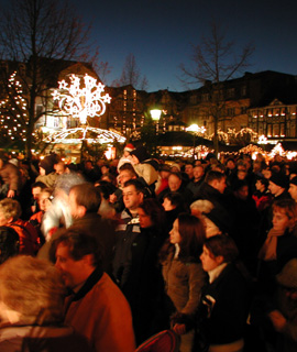 Weihnachtsmarkt in Peine