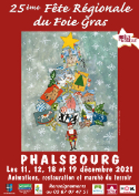 Phalsbourg im Advent
